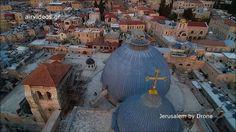 Faça um passeio por Jerusalém