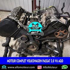 Moteur complet Volkswagen Passat 2.8 V6 AQD 🔵132.000 Kms certifiés 🔵Référence moteur AQD 🔵Compatible Audi , Seat , Skoda 🔵Livré complet sans boîte de vitesses 🔵Garantie 3 mois