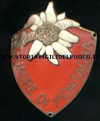 Distintivo da braccio delle Squadre di Montagna