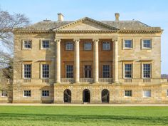22 Places In The UK That Are A Must-See For Jane Austen Fans // Mr. Bingley's house in the 2005 film adaptation of Pride and Prejudice English Country Manor, English House, Jane Austen, Neoclassical Architecture, Le Palais, Country Estate, France, Historic Homes, Oh The Places You'll Go