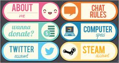 tv Buttons - Icons by LazyChoco on DeviantArt Twitch Streaming Setup, Twitch Channel, V Games, Twitch Tv, Game Logo, Things To Know, Overlays, Fun Facts, Branding