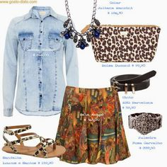 Tropical Print: como usar. Copie os looks.