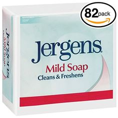 PACK OF 82 BARS Jergens ORIGINAL MILD Bar Soap LUXURIOUS LATHER THAT LEAVE SKIN FRESH  CLEAN All Natural Formula for Men  Women 82 Bars 30oz Each Bar * This is an Amazon Affiliate link. Read more reviews of the product by visiting the link on the image.