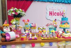 mesa circo rosa nicole