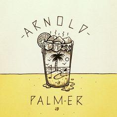 Arnold Palmer Jamie Browne www.jamiebrowneart.com