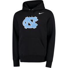 Men's Nike Black North Carolina Tar Heels Lockup Pullover Hoodie I want this one in a large