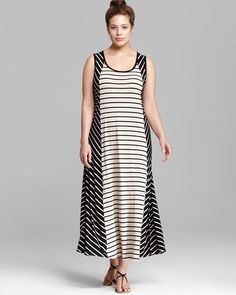 Calvin Klein Plus Bias Cut Maxi Dress | Bloomingdale's