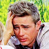 """"""" His acting goes against fifty years of film-making. Each gesture, each attitude, each mime is a slap in the face of tradition. James Dean does not """"show off"""" the script by using understatement… he..."""