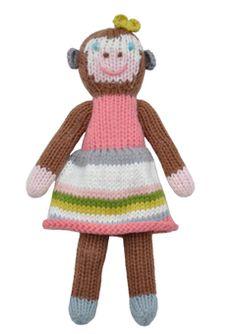 blabla  - Girl Monkey Rattle