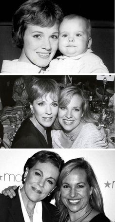 Julie Andrews with daughter Emma Walton Hamilton