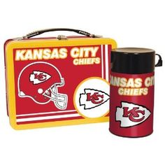 Kansas City Chiefs Lunch Box. NFL Kansas City Chiefs Lunch Box