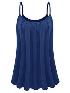 Price: [price_with_discount] Element Womens Plus Size Cami Basic Camisole Tank Top The Pretty Cami comes in a rayon-spandex fabric, it gives you a comfortable fitting, . It feels like a … Plus Size Camisoles, Plus Size Fashion Tips, Loose Tops, Casual Summer Outfits, Looks Vintage, Plus Size Women, T Shirts For Women, Tank Tops, Crop Tops