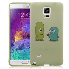 Samsung Galaxy Note 4 Monsterly Love Soft and Flexible TPU Silicone Case   www.nucecases.com   #samsung #nucecases