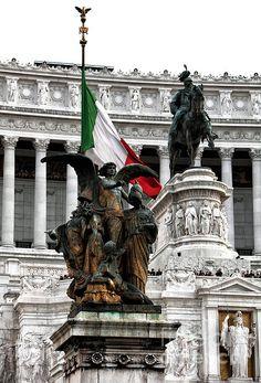 Vittorio Emanuele Monument Photograph by John Rizzuto