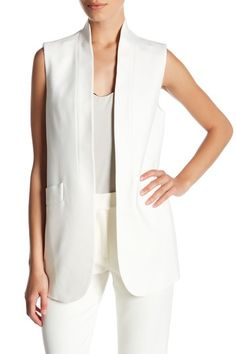 Double Weave Vest by Anne Klein on @nordstrom_rack