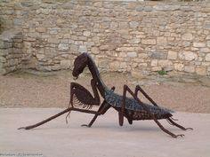 Artwork >> David Vanorbeek >> Praying mantis