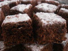 Receta de Cuadritos de Café y Chocolate