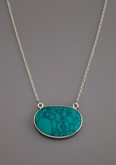 ARGENTO VIVO Oval Gemstone Faceted Necklace
