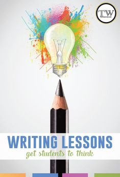 The writing lessons I love the most get students to think. Read about an analytical writing process for high school students.