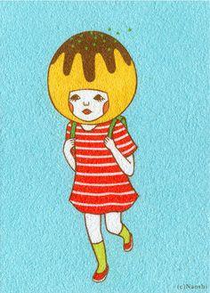 Takoyaki Dashing Away / SUNAE Artist Naoshi