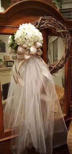 Wedding wreath bride dressing room wreath outdoor wedding