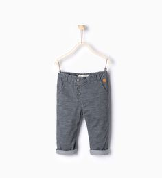 Needlecord lined trousers-Trousers-Baby boy | 3 months - 3 years-KIDS-SALE | ZARA United States $13