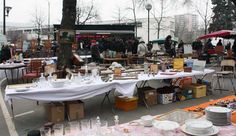 Marché de Vanves - Qui vanno i parigini il sabato e la domenica mattina in cerca di occasioni. www.pucesdevanves.typepad.com