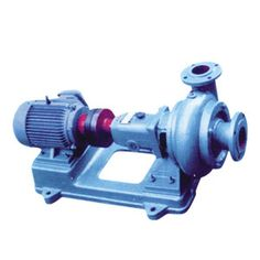 PW Sewage Pump-supported by the bearing, placed in the bearing box, adopt thin oil or grease lubrication