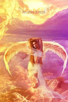 Angel of Light by Ewariel.deviantart.com on @DeviantArt