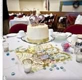 Use A Different Individual Cake For Centerpieces On Tables Instead Of Flowers Love This Would Be Perfect Small Wedding