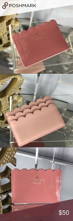 Kate Spade Carrigan Lily Ave Patent Card Holder Kate Spade Carrigan Lily Avenue Patent Nutmeg Pink Card Holder Wallet   NWT...Brand New Color: Nutmeg Pale Pink/Beige  *Bag sold separately in my closet kate spade Bags Wallets