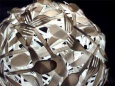 15 Art Pieces Inspired by Tableware #kitchen trendhunter.com
