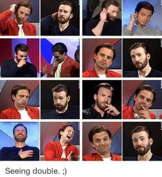 Sebastian ✪ Stan & Chris ✪ Evans