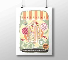 Honeydukes sign, Harry Potter vintage poster | Honeydukes printable wall art shop print | Hogsmeade poster | Sweet table digital download Add a vintage printable wall art to your home and nursery decor or as a gift for any special occasion like birthdays, Halloween, Christmas...