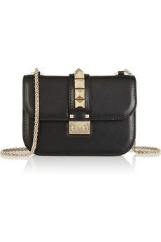 Valentino Glam Lock small leather shoulder bag | NET-A-PORTER