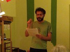 Extreme reading Gorilla Sapiens - serata di letture estreme, duelli fra autori e lettori a colpi di letture. #salto15 Carlo Sperduti