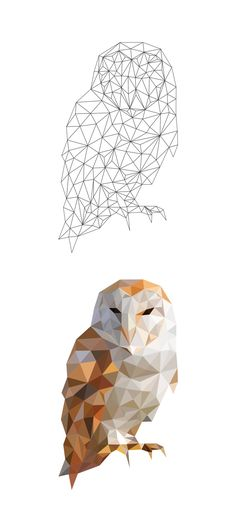 Low Poly Studies by Breno Bitencourt, via Behance