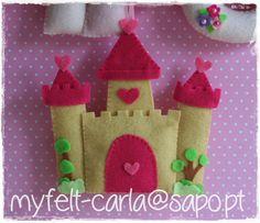 Era uma vez um castelo encantado... - My Felt-Carla | Castle