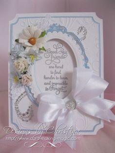 "Blue Pearl ""Friend Card"" by CardMakingMagic on Etsy,"