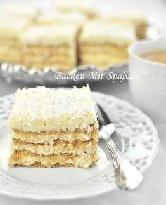 Rafaello with eggnog cake  - this recipe comes is in English with other multiple language options.