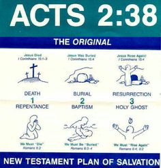 Acts 2:38-39 Then Peter said unto them, Repent, and be baptized every one of you…