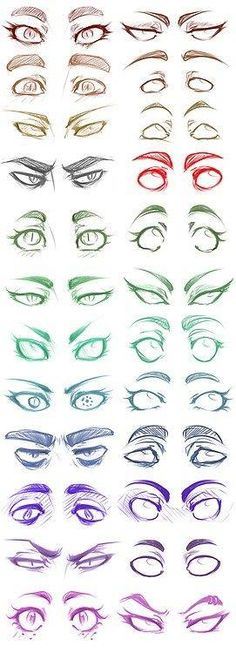 Eye Drawing Tutorial Manga Character Design References 36 Ideas For 2019 Pencil Art Drawings, Art Drawings Sketches, Cartoon Drawings, Eye Drawings, Crazy Drawings, Hipster Drawings, Pencil Sketching, Body Sketches, Tattoo Sketches