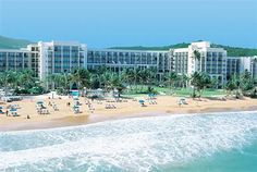 Rio Mar Beach Resort & Spa ~ A Wyndham Grand Resort, Rio Grande, Puerto Rico, Caribbean