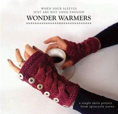 Knitting PDF arm warmers pattern - Wonderwarmers. $5.00, via Etsy.