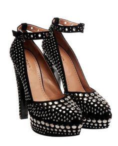 Shoe to Obsess Over: Azzedine Alaia Studded Heels: Dressed,,,,Cute,like these alot