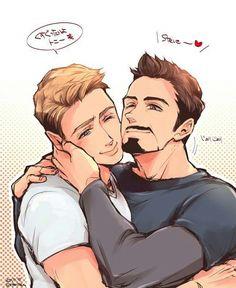 MCU - Steve Rogers x Tony Stark - Stony