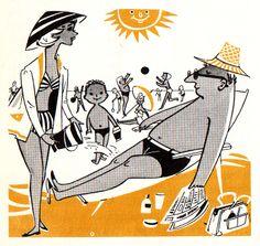 Vraagbaak voor de vrouw (1955) / Illustration by Frans de Keuning