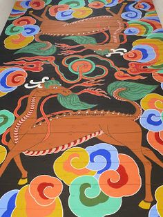 beautiful paintings in the ceiling - Gyeongbokgung palace Beautiful Paintings, Palace, Folk, Korean, Kids Rugs, Ceiling, Day, Home Decor, Decoration Home