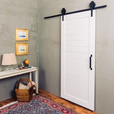 The Horizontal Panel Door is the perfect blend of contemporary and craftsman for any design. The door is built with mortise and tenon joinery and with engineered rails and stiles to ensure it is of the highest quality. Engineered Alder wood.  The door is 1 5/8″ thick, and works with any of Artisan Hardware's sliding barn door hardware.