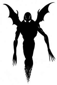 """A shadow demon is """"the essence of a demon imprisoned in the form of a shadow"""", a highly intelligent evil life force that thrives in darkness. (AD&D Fiend Folio, TSR, 1981.)"""